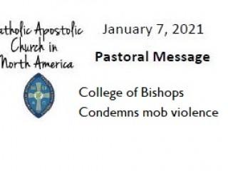 Pastoral Letter on Condemning Mob Violence