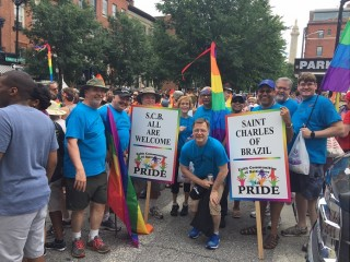 St Charles Joins in Baltimore Pride Parade